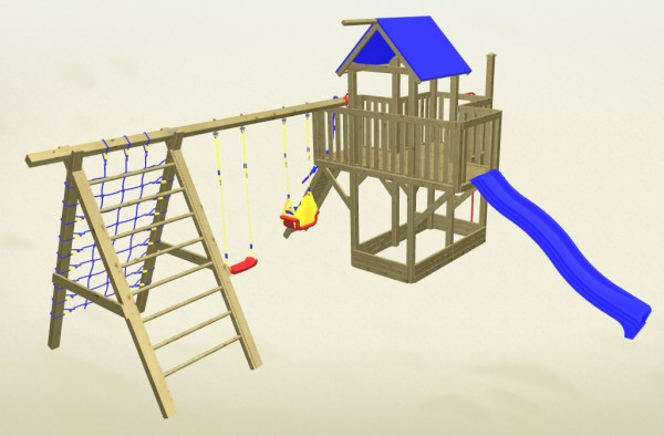 Winnetoo Spielturm Hexe 5 Komplettset