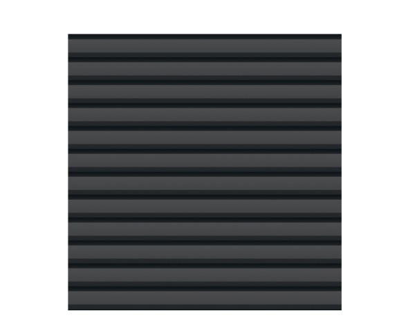 System Metall Basic Zaun anthrazit 179 x 180 cm Nr. 2750