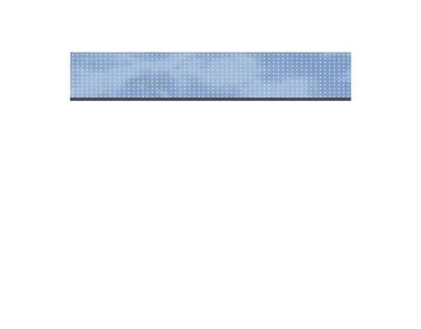 SyWPC Dekorprofil GLAS/Theta hoch Set Nr.2322