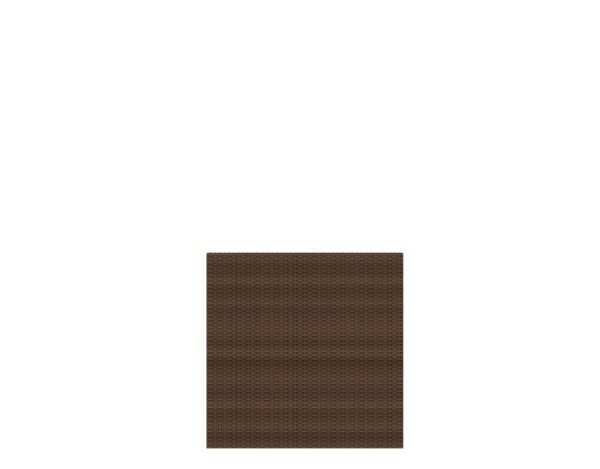 Weave Rechteck mocca 88 x 88 cm, Nr. 2012