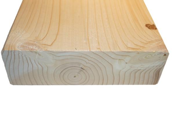 6x20 cm KVH Konstruktionsvollholz Fi/Ta, egalisiert, gefast