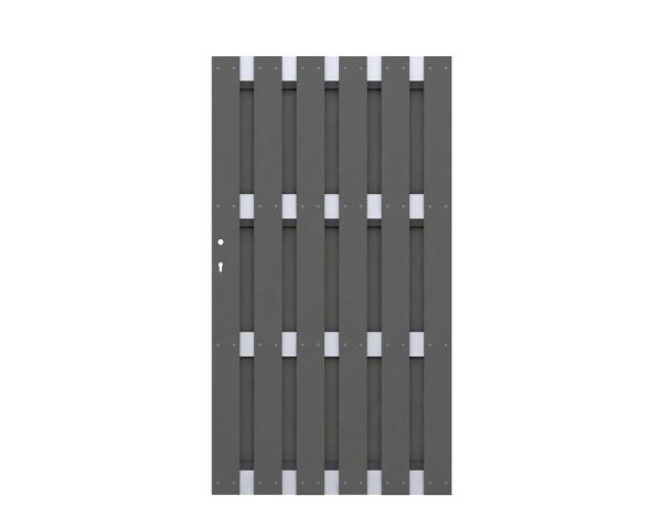 Jumbo WPC Tor Anthrazit - Aluminium Nr. 2567