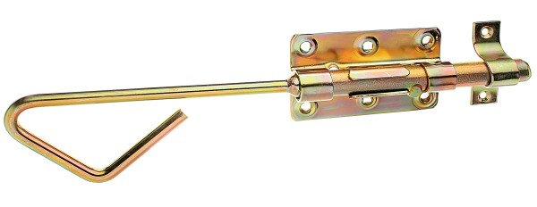 Alberts Bolzen-Stangenriegel m. Schl.,verz. 320 mm   129149