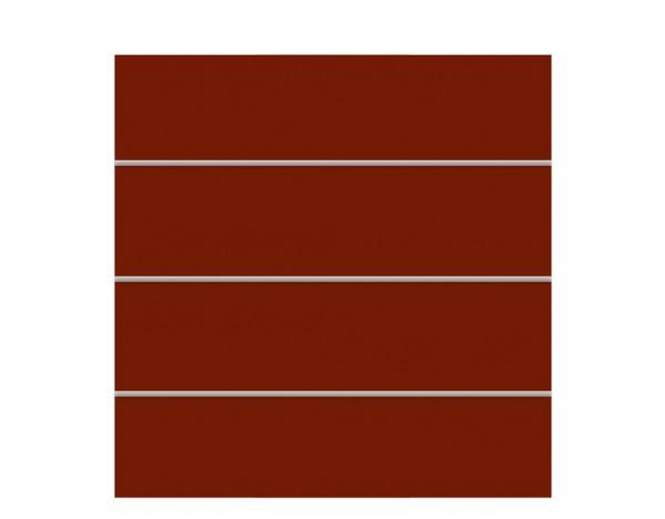 Tr. Board XL Zaun-Set rot 178 x 180 cm  Nr. 2802