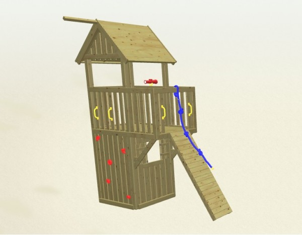 Winnetoo Spielturm Fee 2 Komplettset