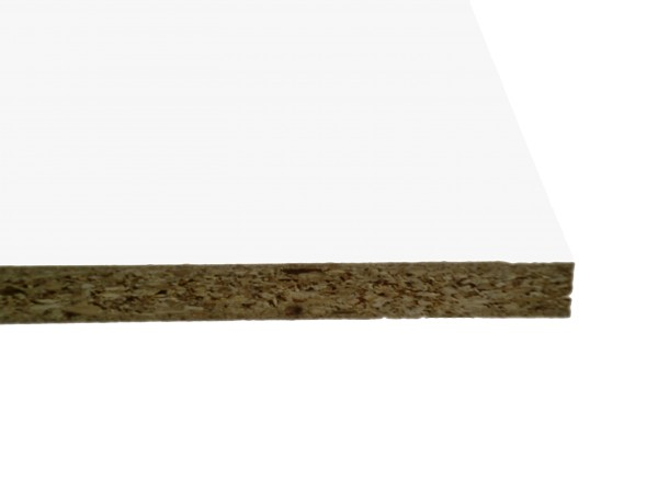13 mm Dekorspanplatte B3822LO / 020 Weiß glatt-matt
