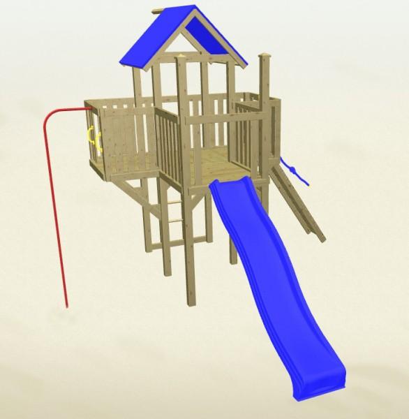 Winnetoo Spielturm Hexe 2 Komplettset